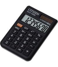 Калькулятор CITIZEN SLD100, 8 р, черный, карманный