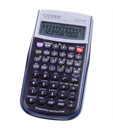Калькулятор научный Citizen SR-270N, 10+2 разр., 236 функц., пит. от батарейки, 149*70*12мм, черный