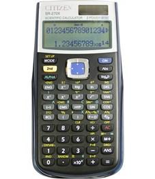 Калькулятор научный Citizen SR-270XGR 10+2 разряда, 274 функц., двойн. питание, 84*164*19мм, зеленый
