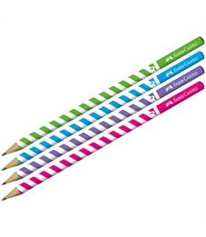 """Карандаш ч/г Faber-Castell """"Stripes"""" HB, круглый, заточен."""