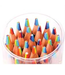"""Фото 2. Карандаш с многоцветным грифелем Мульти-Пульти """"Енот и радуга"""", кругл., заточен., ассорти"""