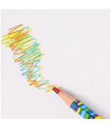 """Фото 3. Карандаш с многоцветным грифелем Мульти-Пульти """"Енот и радуга"""", кругл., заточен., ассорти"""