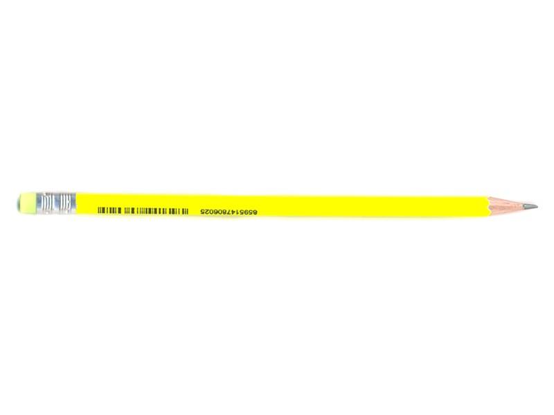 Карандаш чернографитный Stabilo, желтый корпус