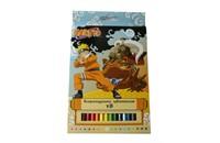 Карандаши 18цв. карт/уп Naruto 6600B18/N