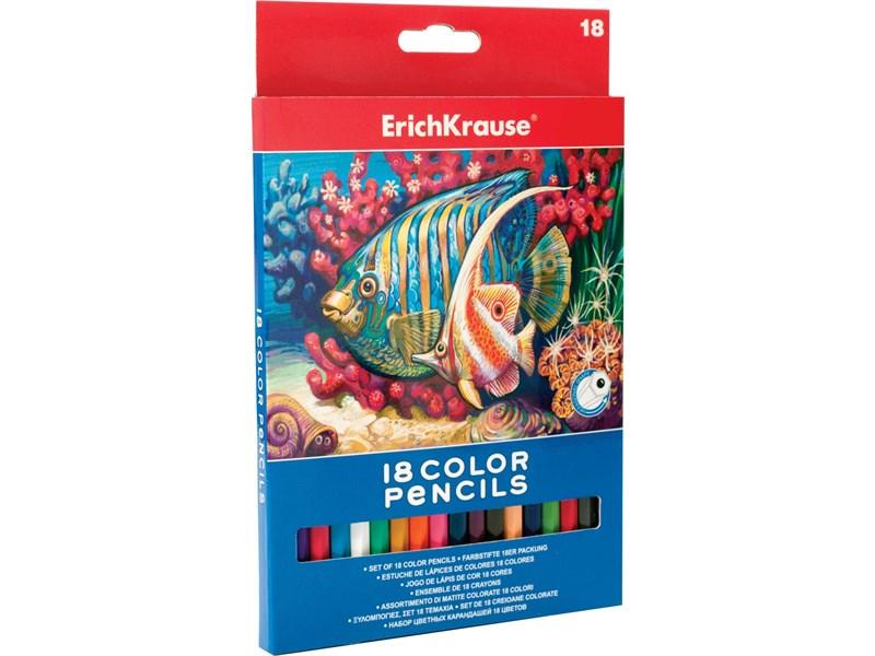 Карандаши цветные ArtBerry 18цв. карт. уп. Erich Krause