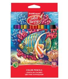 Фото 2. Карандаши цветные ArtBerry 18цв. карт. уп. Erich Krause