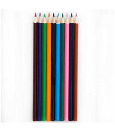 """Фото 2. Карандаши цветные ArtSpace """"Животный мир"""" 12цв., трехгран., заточен., картон. уп., европодвес"""