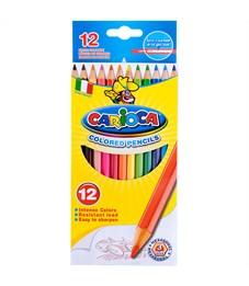 Фото 2. Карандаши цветные Carioca 12цв., заточен., картон, европодвес