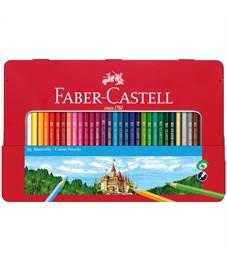 Карандаши цветные Faber-Castell, 36цв., заточен., метал. кор.