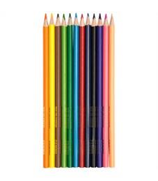 """Фото 2. Карандаши цветные Гамма """"Мультики"""", 12цв., трехгранные, заточен., картон, европодвес"""