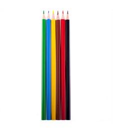 """Фото 2. Карандаши цветные Koh-I-Noor """"Центы"""", 06цв., заточен., картон, европодвес"""