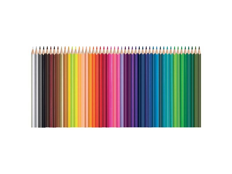 """Карандаши цветные Maped """"Color Pep's"""", 48цв., трехгран., заточен., картон, европодвес"""