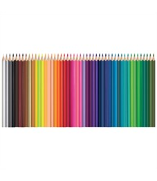 "Фото 2. Карандаши цветные Maped ""Color Pep's"", 48цв., трехгран., заточен., картон, европодвес"