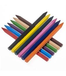 Фото 2. Карандаши (мелки) пластиковые JOVI 12цв., шестигранные, картон, европодвес