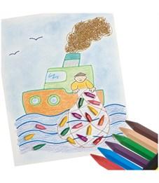 Фото 3. Карандаши (мелки) пластиковые JOVI 12цв., шестигранные, картон, европодвес