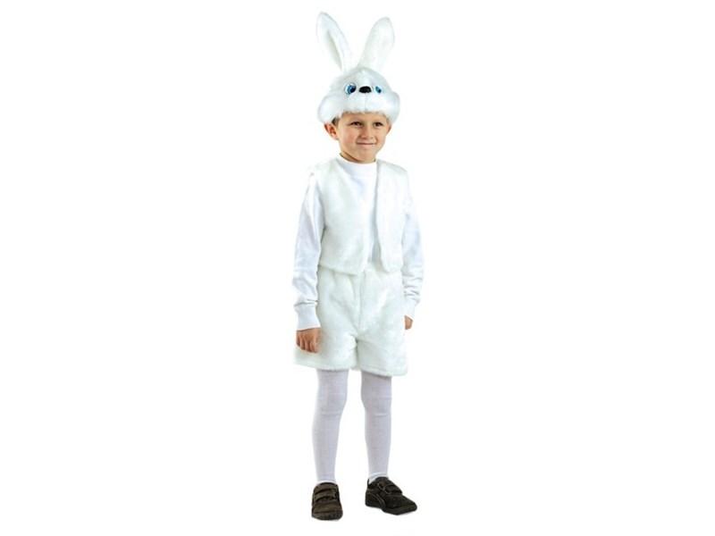 Карнавальный костюм Батик Заяц белый