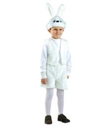 Фото 1. Карнавальный костюм Батик Заяц белый