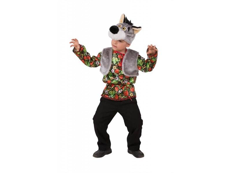 Карнавальный костюм Батик Волчонок Ерёмка Батик