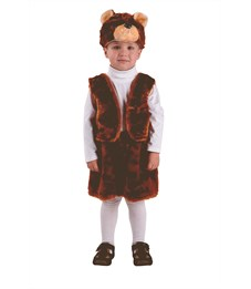 Новогодний костюм Бурый Медведь для мальчика