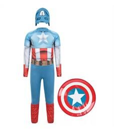 """Фото 2. Карнавальный костюм """"Капитан Америка"""""""