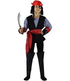Карнавальный костюм Пират в тельняшке Карнавалия