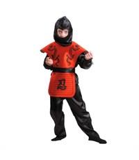 Фото 1. Карнавальный костюм Ниндзя красный Батик
