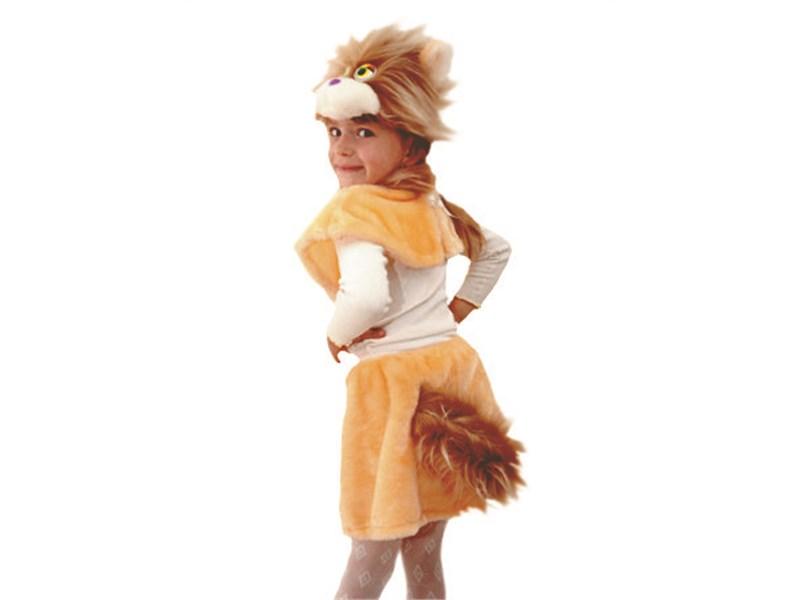 "Новогодний костюм ""Кошка Маркиза"" для девочки"