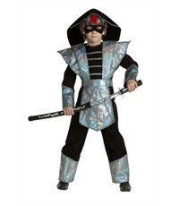 Карнавальный костюм Батик Ниндзя Серебрянный К-премьер