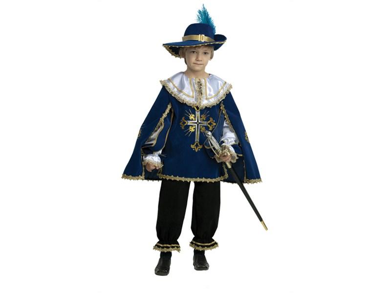 Карнавальный костюм Батик Мушкетер синий