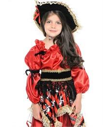 Фото 3. Карнавальный костюм Пиратка красная, Батик