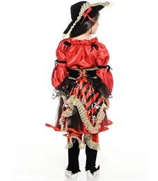 Фото 4. Карнавальный костюм Пиратка красная, Батик