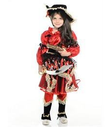 Фото 2. Карнавальный костюм Пиратка красная, Батик