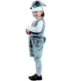 Новогодний костюм Заяц серый