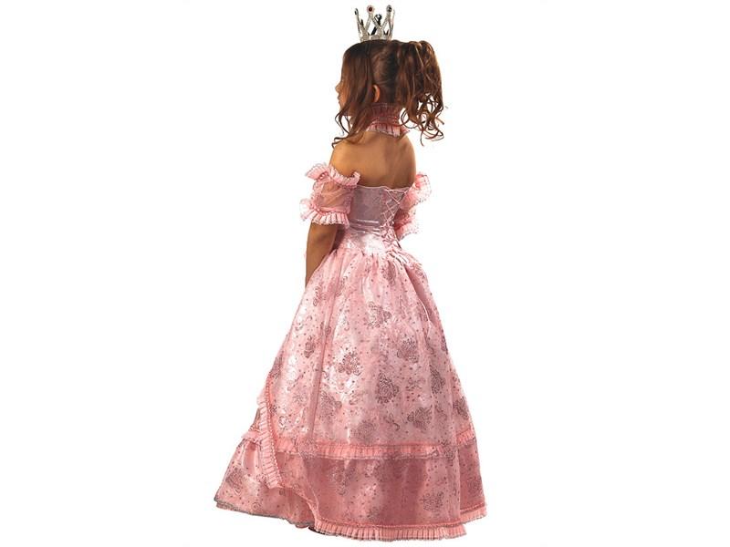 """Карнавальный костюм """"Золушка-Принцесса"""" розовая"""