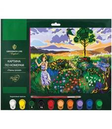 """Картина по номерам Greenwich Line """"Перед грозой"""" A3, с акриловыми красками, картон, европодвес"""