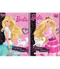 Картон цветной 10 цветов, 10 листов (2мет), Barbie VQ-B759,B760