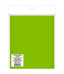 Картон цветной тонированный А4, Апплика, 8л., 8цв., пакет с европодвесом