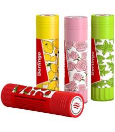 """Фото 2. Клей-карандаш Berlingo """"Aroma"""", 21г, ароматизированный (мята, лимон, клубника, роза)"""