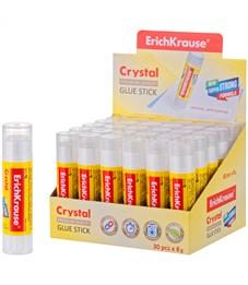 """Клей-карандаш Erich Krause """"Crystal"""", 08г"""