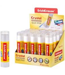 """Клей-карандаш Erich Krause """"Crystal"""", 15г"""