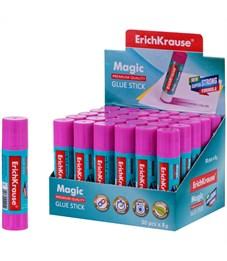 """Клей-карандаш Erich Krause """"Magic"""", 08г, с цветным индикатором"""