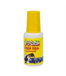 Клей ПВА Каляка-Маляка 20 гр. с кисточкой