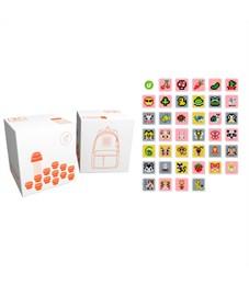Комплект пикселей собери любую из 39 картинок на рюкзак U18-T-kids01 270шт