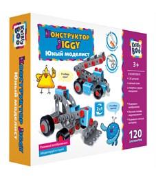 """Конструктор пластиковый Kribly Boo """"Jiggy. Юный моделист"""", с  ключом, 120 элементов"""