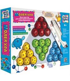 """Конструктор пластиковый Kribly Boo """"Молекула"""", для пространств. моделирования, 24 шарика, палочки"""