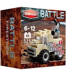 """Конструктор пластиковый Zormaer """"Battle. Огненный смерч'', 28 элементов, картонная коробка"""