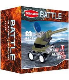 """Конструктор пластиковый Zormaer """"Battle. Пылающий гром"""", 30 элементов, картонная коробка"""
