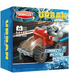"""Конструктор пластиковый Zormaer """"Urban. Рубиновая звезда"""", 26 элементов, картонная коробка"""