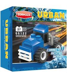 """Конструктор пластиковый Zormaer """"Urban. Сапфировый метеор"""", 27 элементов, картонная коробка"""