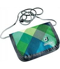 Кошелек Deuter One Two 3890215-3216 сине-зеленая клетка